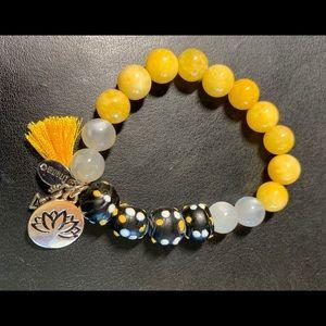 Handmade ♥️Mindfulness Gems ✨Bracelet🌈